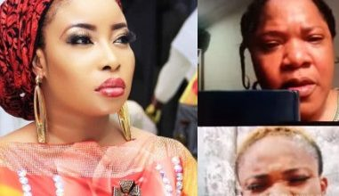 Photo of Toyin Abraham urges Liz Anjorin to desist from cursing her husband