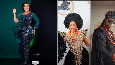 Photo of Mercy Aigbe says she united Toyin Lawani, her husband