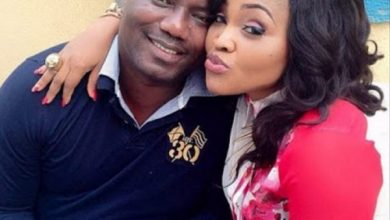 Photo of Lanre Gentry reveals he is not feuding ex-wife, Mercy Aigbe