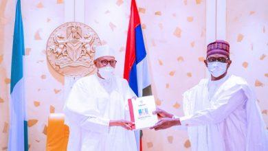 Photo of Buhari Receives Progress Report Of APC Caretaker Committee