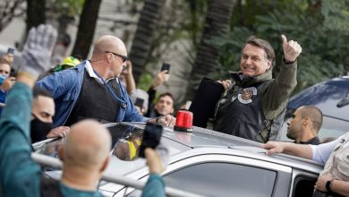 Photo of Jair Bolsonaro fined for flouting mask rule