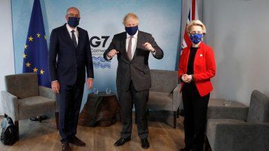 Photo of G7 summit: Boris Johnson meets with EU leaders amid Northern Ireland sausage trade row
