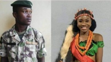 Photo of Army Speaks On Murder Of Jennifer Ugadu By Soldier Boyfriend