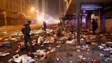 Photo of South African Police Caught Looting(VIDEO)