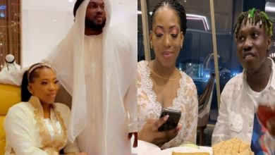 Photo of Bolanle Ex Husband Shows Off His SA Wife (Photos)
