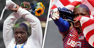 Photo of Raven Saunders' gesture on Olympic podium legal, says U.S. committee