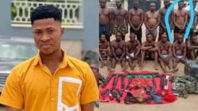 Photo of Police Parades Young Man Arrested While Buying Food For Sick Mum As ESN Member