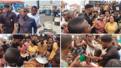 Photo of Victor AD Celebrates His Birthday With The Poor(Video)