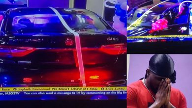 Photo of Moment Pere won car prize from the Innoson task (Video)
