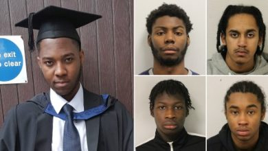 Photo of 4 gang members jailed for life after 'brutal murder' of innocent NHS worker