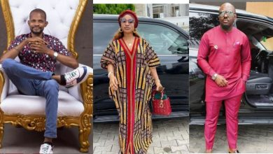 Photo of Uche Maduagwu vows to marry Tonto Dikeh, tells Jim Iyke to stop trying to impress her