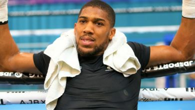 Photo of Anthony Joshua responds to comments about his new skinny physique: I'm 'solid as a rock'