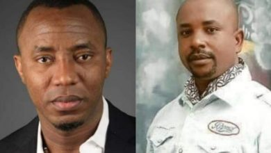 Photo of Olajide Sowore: Sowore Releases Photos from Scene of Brother's Murder, Bullet-Riddled Car