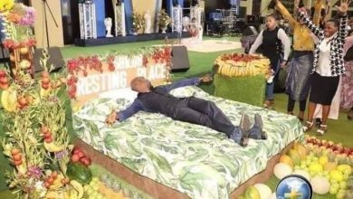 Photo of Pastor shows his members what heaven looks like (Photos) –