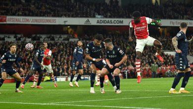 Photo of Arsenal thrash Aston Villa with Partey, Aubameyang, Smith Rowe goals