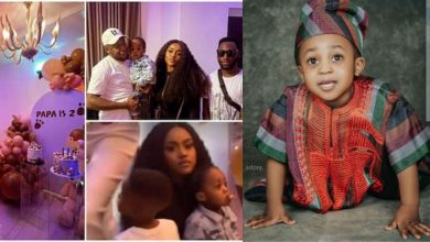 Photo of Davido absent as Chioma organizes a beautiful house party for Ifeanyi's 2nd Birthday (Videos/photos)