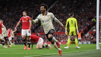 Photo of Liverpool humiliate Man.U at Old Trafford 5-0 with Salah hattrick