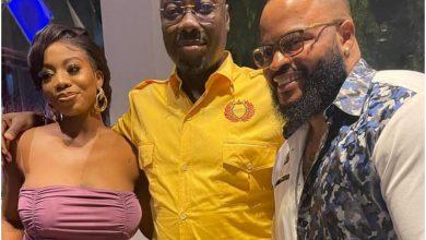 Photo of WhiteMoney finally meets billionaire role model, Obi Cubana (Video)