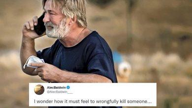 Photo of Alec Baldwin heart-broken over prop gun accident
