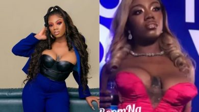 """Photo of """"Only Interested In Money""""— Angel Smith Reacts Amid Wardrobe Malfunction"""