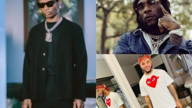 Photo of Moment Wizkid, Poco Lee Surprise Burna Boy At His Hollywood Bowl Performance