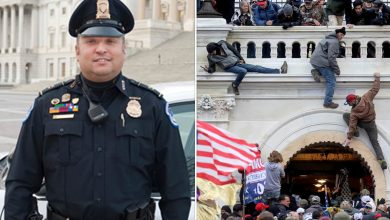 Photo of Capitol Police officer charged with obstruction of justice for telling January 6 protester to delete incriminating Facebook posts