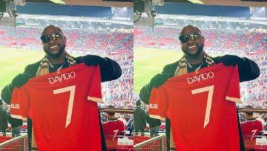 Photo of Moment Davido Meets Man U Star, Paul Pogba after Game Against Atlanta [VIDEO]