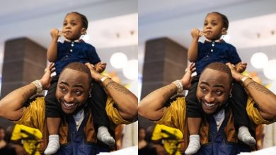 Photo of 'So Redeemed Dey Dedicate Pikin Outside Wedlock' – Reactions As Davido, Chioma Take Son To church