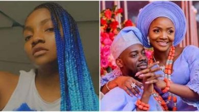 Photo of Simi reveals better singer between she and her husband