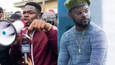 Photo of #EndSARS: Falz and Mr Macaroni Announces Procession to Lekki Tollgate Despite Threats From Police