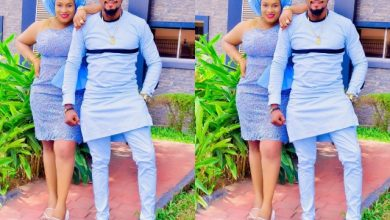 Photo of Junior Pope Shares Throwback Video of Wife 'Eating Corn' While in Labour