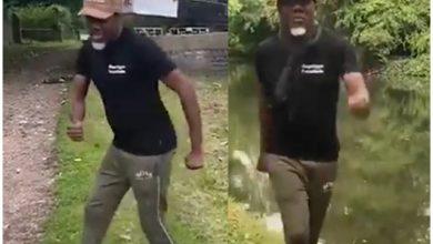 Photo of Reno Omokri Displays His LegWork Dance Moves as He Dedicates His New Song to Buhari and Tinubu