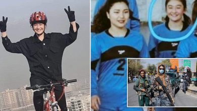 Photo of Taliban 'beheads member of women's youth volleyball team'