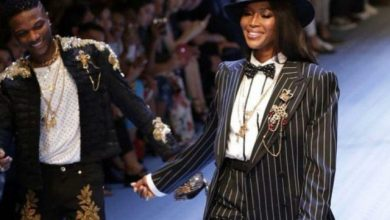 Photo of Naomi Campbell Forced Me to Walk the Runway for Dolce & Gabbana in 2018 – Wizkid Spills